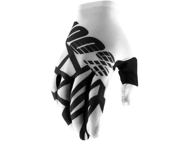100% Celium 2 Gloves white/black
